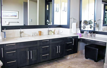 Gallery of Quartz Granite & Marble Bathrooms